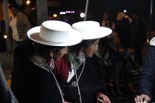 White hats, Fiesta of the Virgin of Saraguro