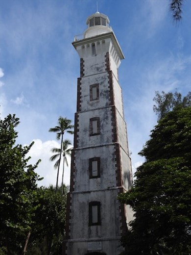 Lighthouse from 1867 European arrival, Papeete