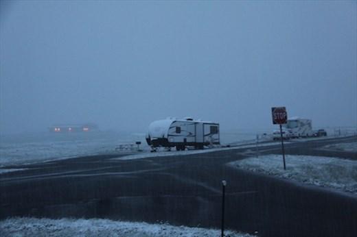 Surprise!  May 21 snow storm, Buckley AFB Colorado
