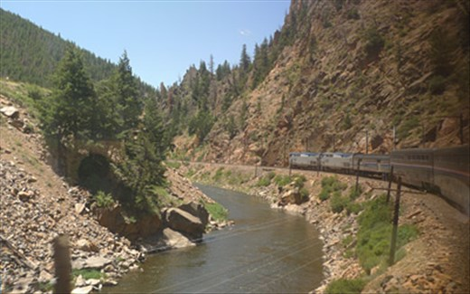 California Zephyr (photo from internet)