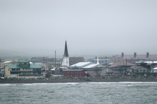 Nome, from the harbor