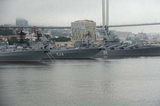 Russian navy in port, Vladivostok