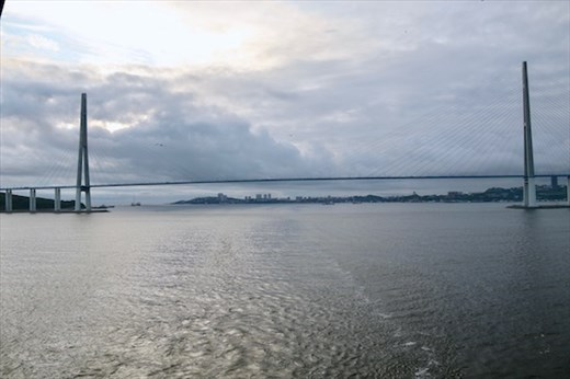 Leaving Vladivostok