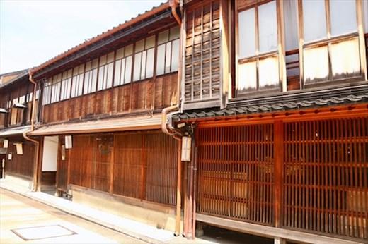 Kanazawa teahouse district