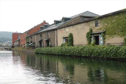 Otaru warehouses on the canal