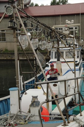 Squid fishing is big business in Otaru
