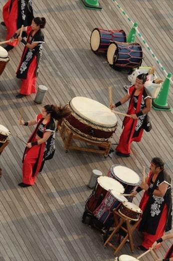 Tochi drummers, Yokohama