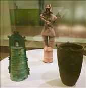 Yakoi bell, Kofun statue and Jomom pottery, Tokyo National Museum: by vagabonds3, Views[36]