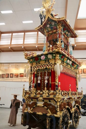 Homei Tai, Festival Floats Exhibition Hall