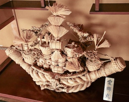 Straw artwork, Hida Folk Village