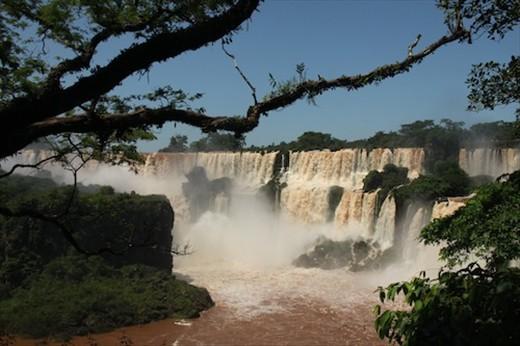 Iguassu Falls, truly spectacular