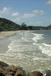 Beach at Encantada, Ihla do Mel: by vagabondstoo, Views[286]