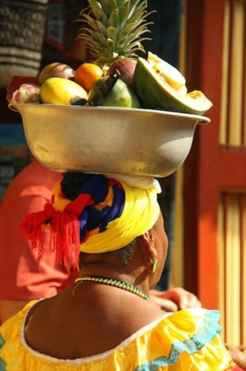 Fruit lady, Cartagena