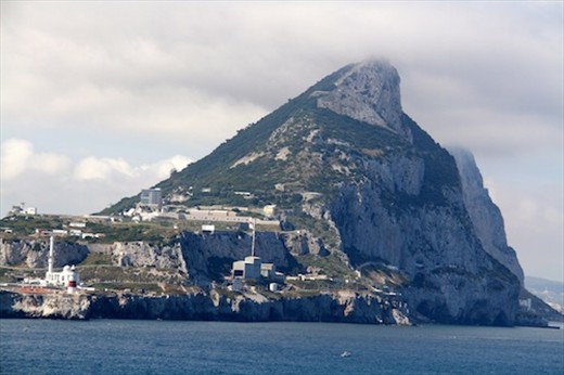 Leaving Gibraltar