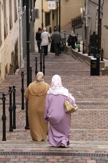 Muslim ladies, Gibraltar