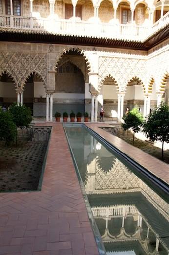 Alcazar at Sevilla