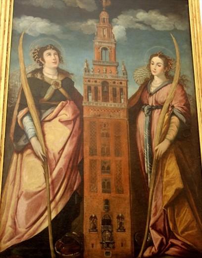 Patron saints of Sevilla, Santa Justa and Santa Rufina