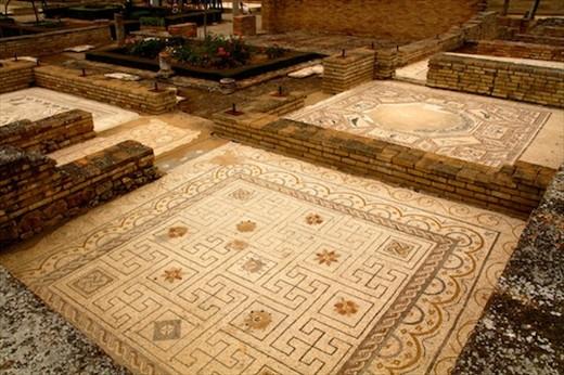 Casa de Pajeros mosaics, Italica