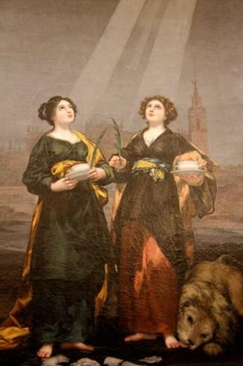 Santa Justa and Santa Rufina by Goya, Alcazar of Sevilla