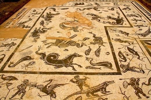 Roman mosaics, Italica
