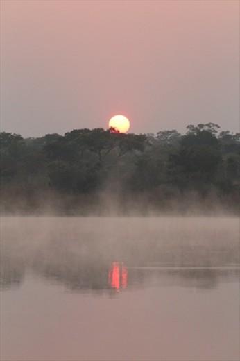 Sunrise, Kasungu NP
