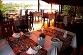 Elegant dining, Mukambi Lodge: by vagabondstoo, Views[701]