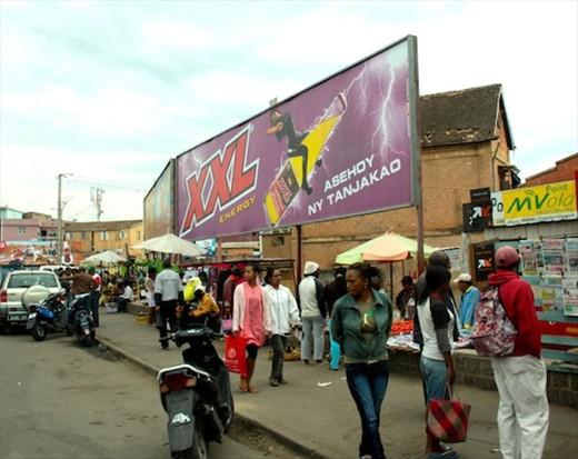85% unemployment, Antananarivo