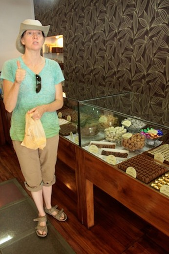 Debbie jonesing for some chocolate, 'Tana