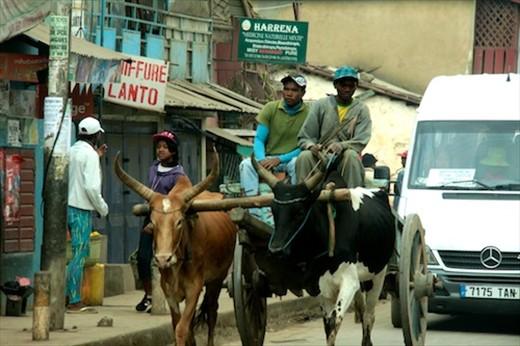 Antananarivo street scene