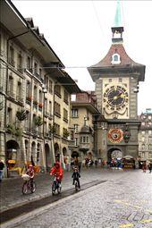 Clock tower, Bern: by vagabondstoo, Views[481]