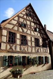 Half-timbered house, Dinkelsbuhl: by vagabondstoo, Views[184]