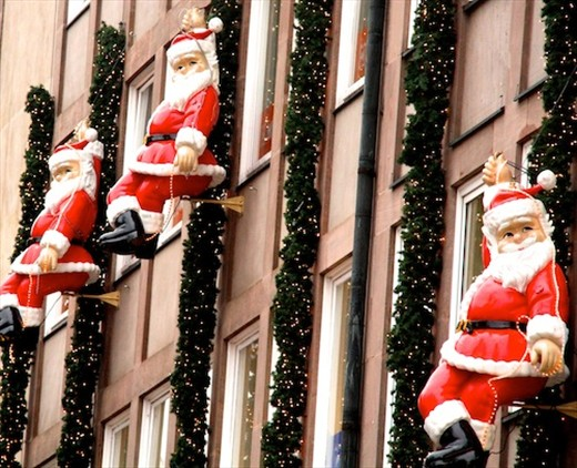 Santas, Christmas Market, Nuremburg
