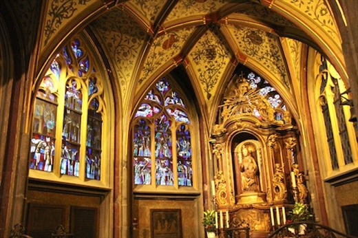 Aachen Cathedral, resting place of Charlemagne