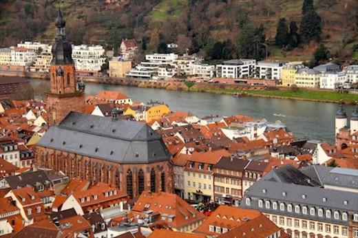 Heidelberg and the Neckar