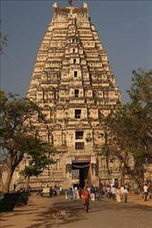 Virupaksha Temple, Hampi: by vagabondstoo, Views[298]
