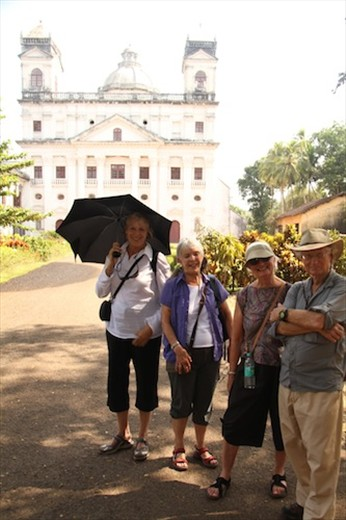 Independent American travelers, and seniors to boot.  What's the world coming to