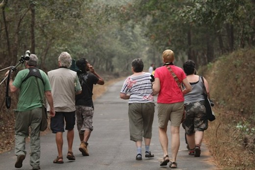 With the Brits, Bagwhan Mahaveer National Park