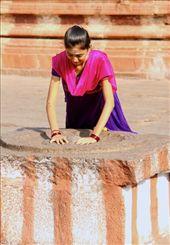 Devotions, Virupaksha Temple, Hampi: by vagabondstoo, Views[274]