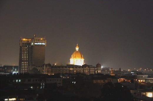 Mumbai skyline at night