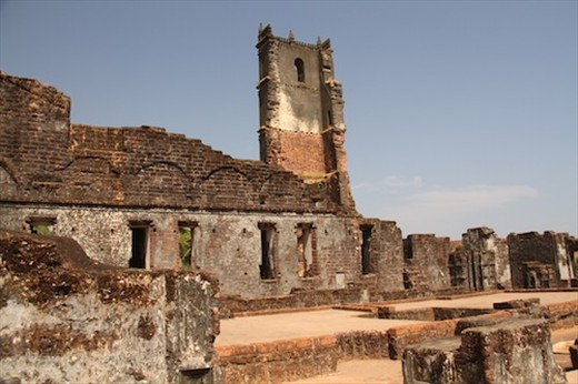 Ruins of St. Augustine, Old Goa