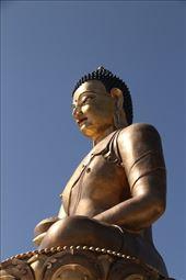 Present Buddha, Thimphu: by vagabondstoo, Views[272]