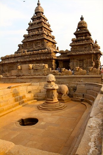 Shore Temple, Mamallapura