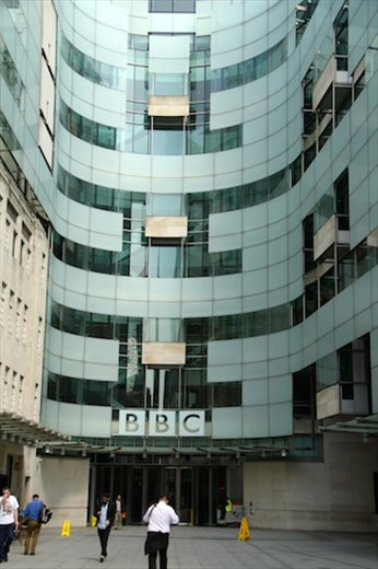 BBC studios, London