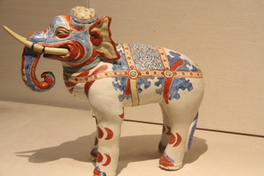 Ceramic Elephant, one of the
