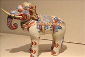 Ceramic Elephant, one of the