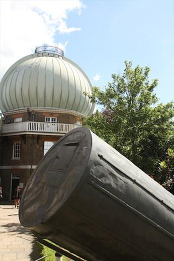 Herschel's Telescope, Royal Observatory, Greenwich