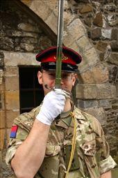 Captain's salute, Stirling Castle: by vagabondstoo, Views[270]