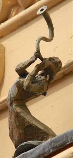 Street sculpture, Armagh - Angel