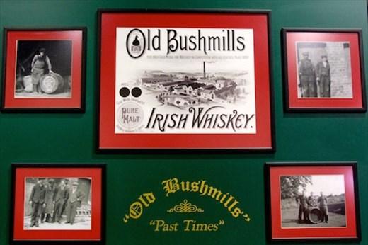 Bushmill's Irish Whiskey, world's oldest distillery