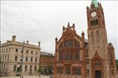 Derry Guildhall from the City Wall: by vagabondstoo, Views[246]